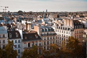 edifícios de paris foto