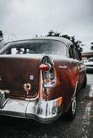 cidade do cabo, áfrica do sul, 2020 - close-up de um carro clássico