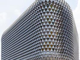 adelaide, austrália, 2020 - edifício moderno na cidade
