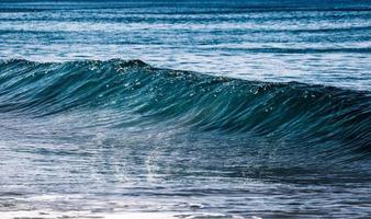 ondas do oceano azul