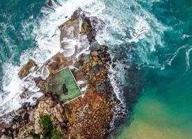 vista aérea de uma ilha