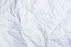 fundo de papel branco amassado foto