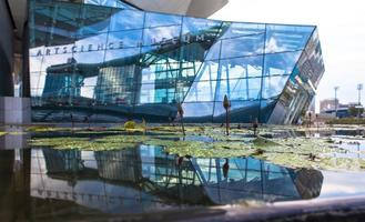 Singapura, 2020 - entrada do museu das artes cênicas