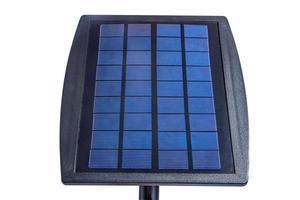 painel solar isolado em fundo branco