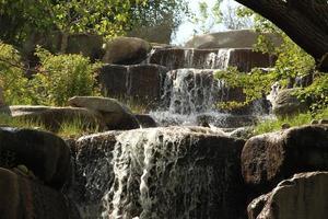 cachoeira em um parque
