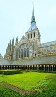 a galeria gótica de st. mosteiro de Michael. mont saint-michel,