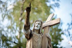 estátua de jesus cristo