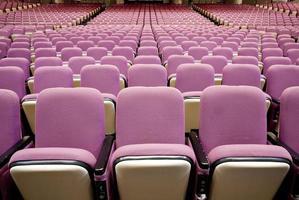 assento de teatro foto