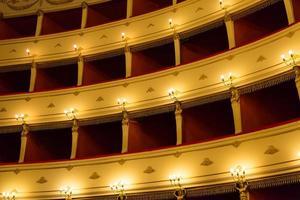 palco de um teatro foto