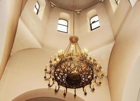 interior de igreja ortodoxa foto