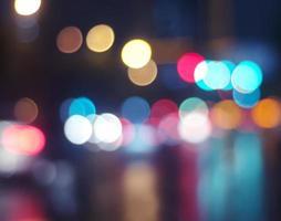 fundo da cidade à noite