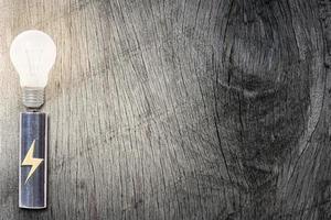 salvando o conceito de conceito em fundo de madeira
