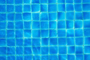 vista superior da piscina foto