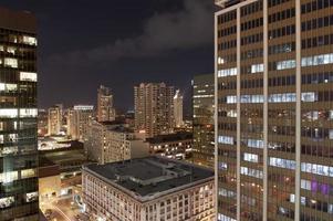 paisagem urbana de san diego à noite