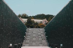 edifícios da universidade ewha foto