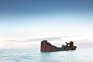 navio submerso