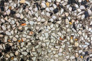 superfície de parede de pedra padronizada foto