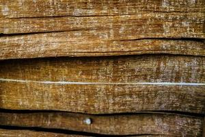 fundo de textura de prancha marrom de madeira escura foto