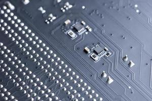 placa de circuito eletrônico, close-up foto