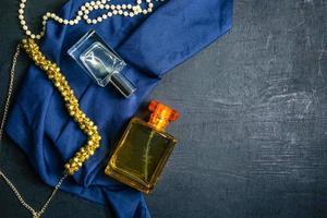 perfume e joias