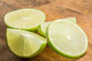 rodelas de limão, close up
