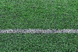 linha de campo de futebol de grama artificial