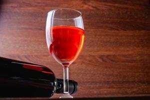 copo de vinho tinto foto