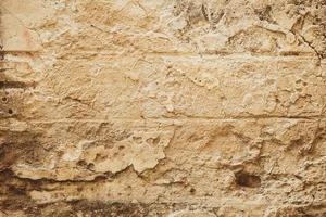 antigo fundo de parede de concreto rústico