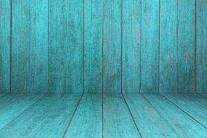 textura de madeira rústica azul foto