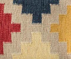 textura do tapete asteca foto