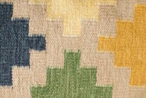 design de tapete asteca foto