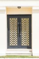 porta de madeira luxuosa