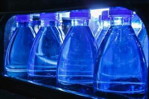 garrafas de água potável