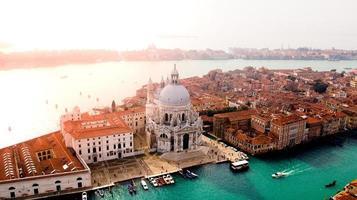 vista aérea de veneza, itália