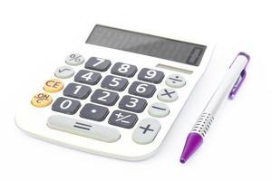 calculadora com caneta