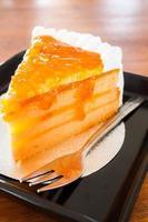 bolo de geleia de laranja