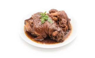 perna de porco cozida