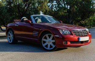 fogo cruzado de Chrysler na estrada