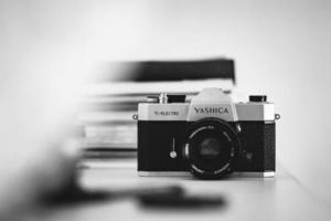 câmera de filme yashica foto