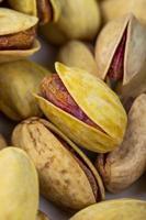 close-up de nozes de pistache