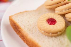 pão e pãezinhos foto