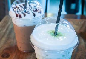 close-up de cafés