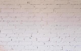 parede de tijolos brancos foto