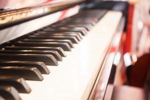 close-up de um teclado foto