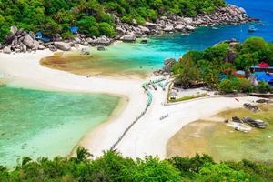 ilha koh nangyuan, suratthani, sul da tailândia foto