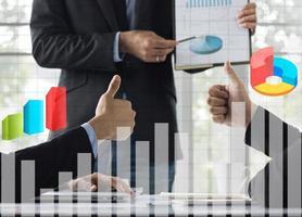 orçamento e planejamento de negócios foto