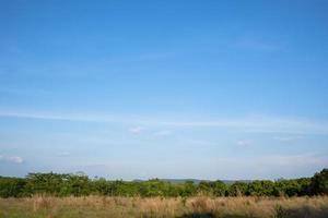 paisagem na Tailândia no campo
