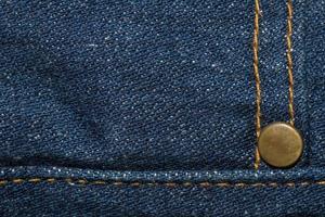tecido jeans close-up