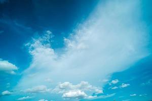 nuvens brancas em um céu
