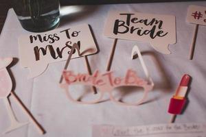 decorações de casamento variadas